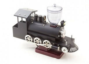 コーヒーミル用機関車模型